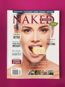 glossy magazine printed at Allen Press