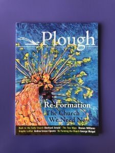 Plough Web Magazine printed at Allen Press