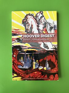 Hoover Digest magazine printed at Allen Press