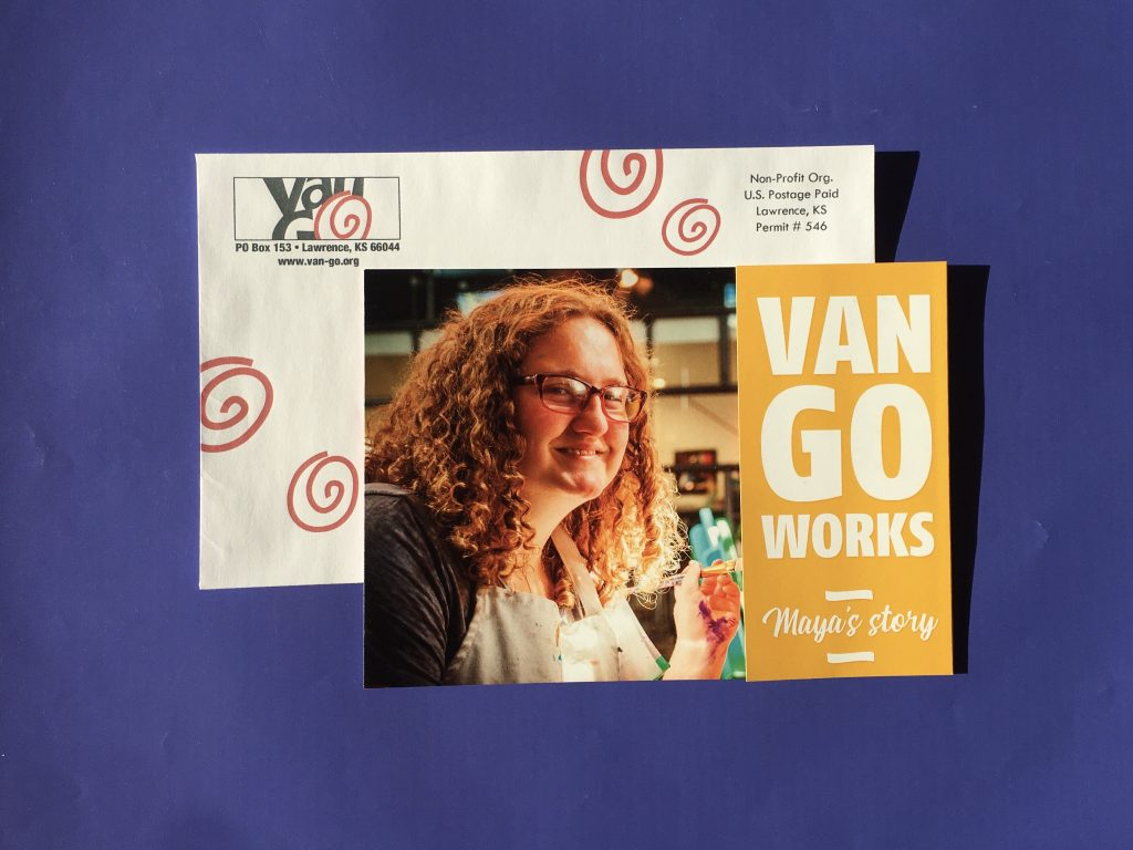 Van Go Mailer Wins Allen Press 2019 Gold Ink Award