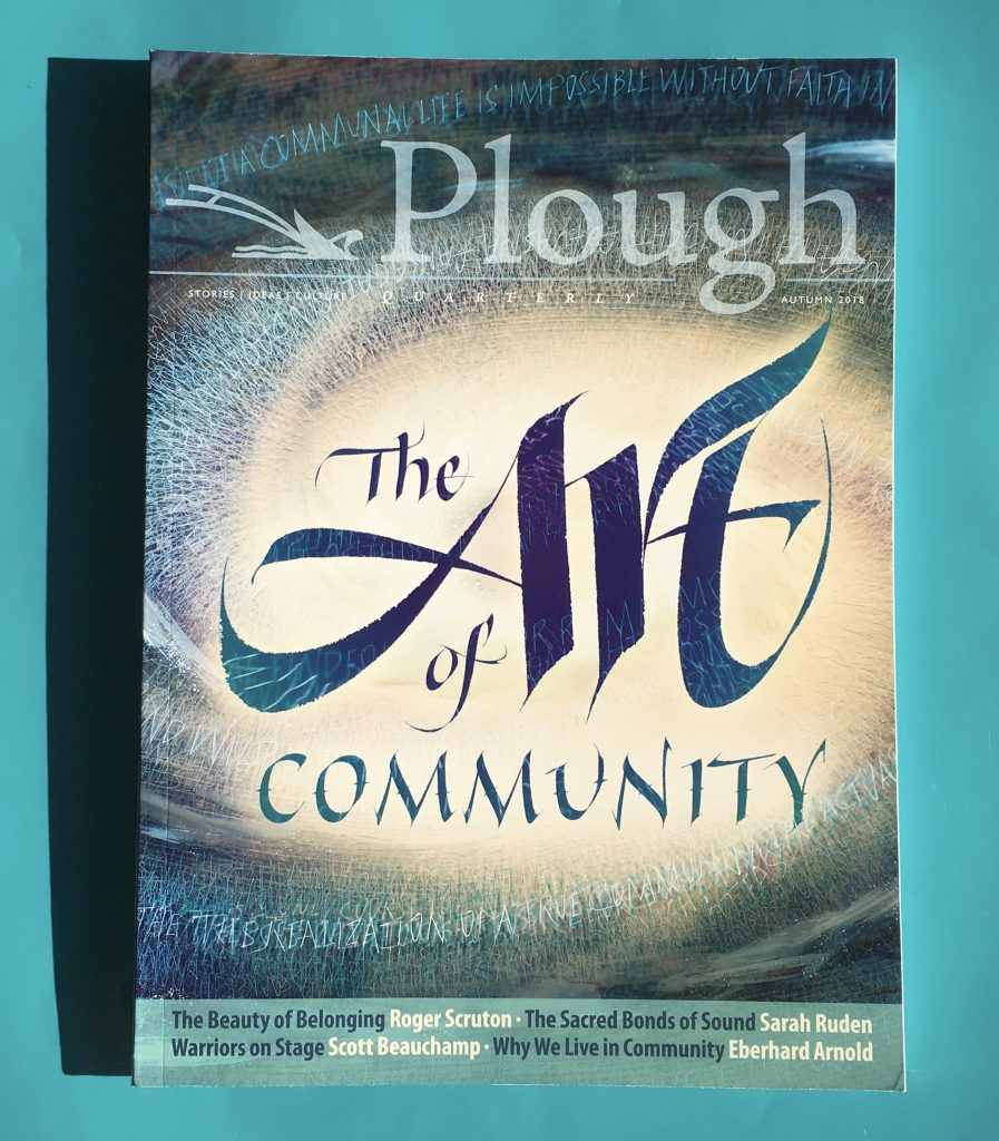 Plough Quarterly Wins Allen Press Gold Ink Award