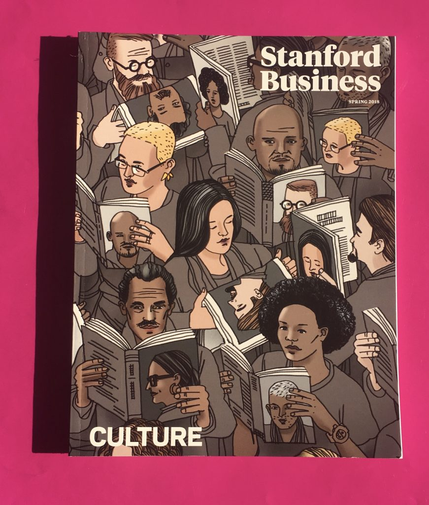 Stanford Business Magazine Wins Allen Press 2019 Gold Ink Print Award