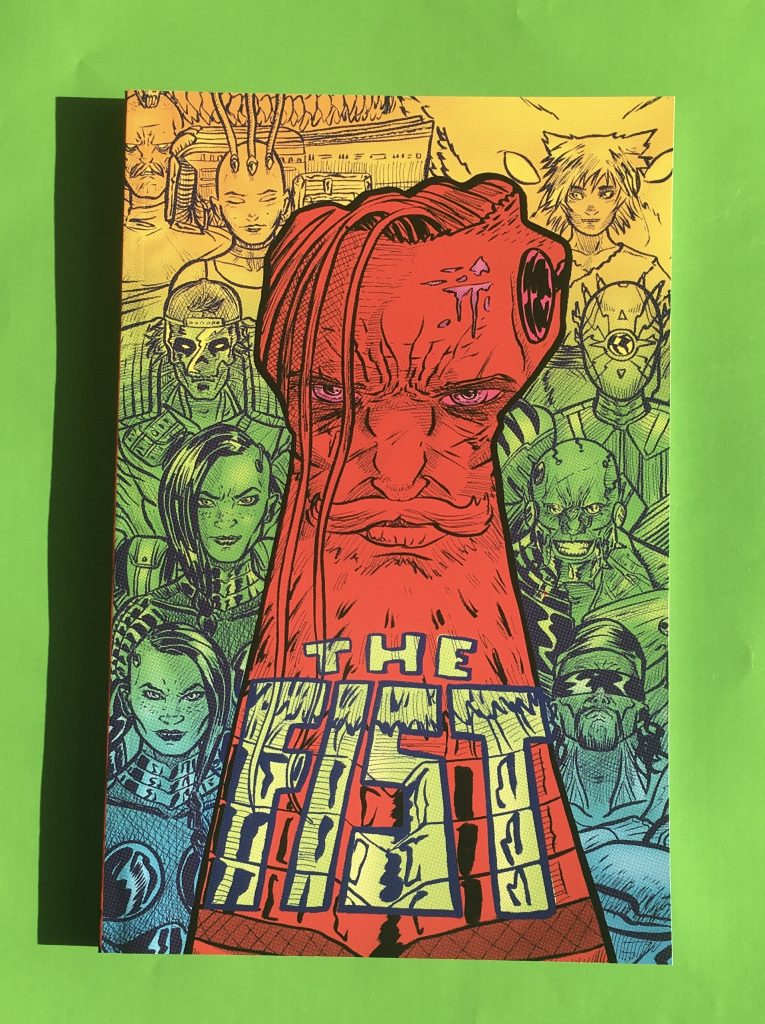 The Fist Graphic Novel Wins Allen Press 2019 Gold Ink Award
