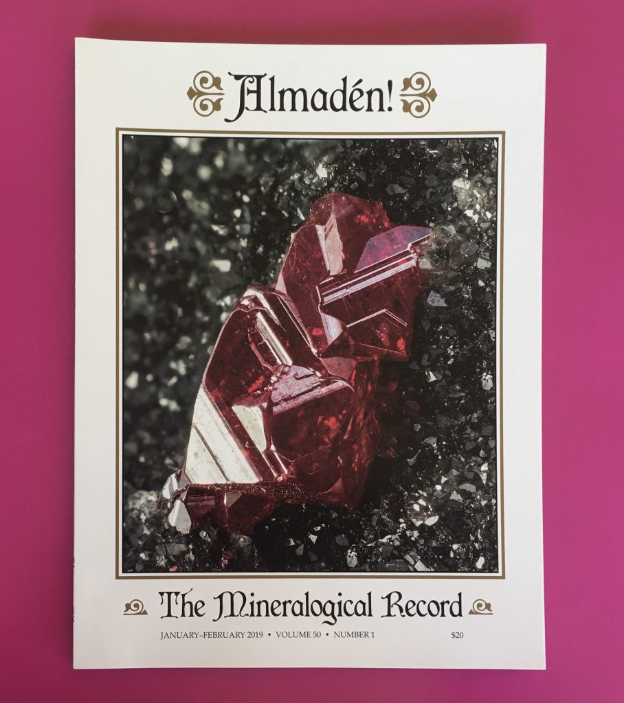 The Mineralogical Record Wins Allen Press 2019 Gold Ink Award